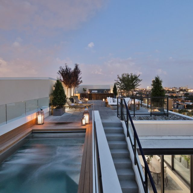 $5.49M condo with private infinity pool is Jersey City's most expensive penthouse ever listed