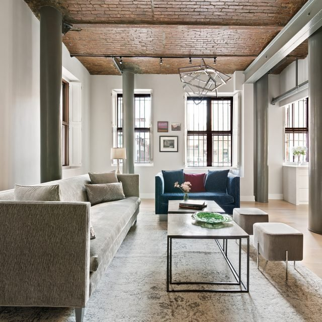 $3M Brooklyn Heights triplex is a modern oasis with original barrel-vaulted ceilings