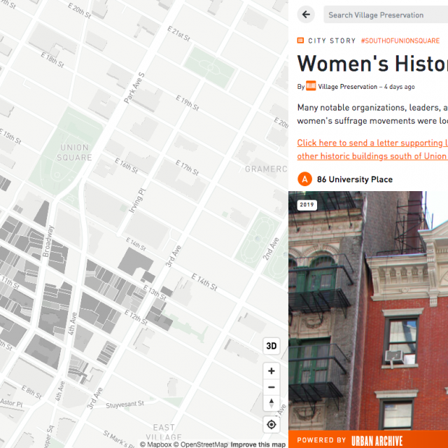 Campaign to save Union Square South sites connected to women's history continues