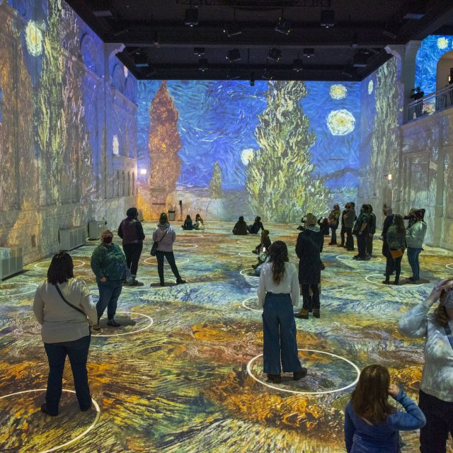New digital art show that takes you 'inside' Van Gogh's paintings will open in NYC