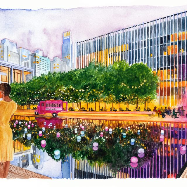 Lincoln Center campus will be transformed into 10 outdoor performance venues this spring