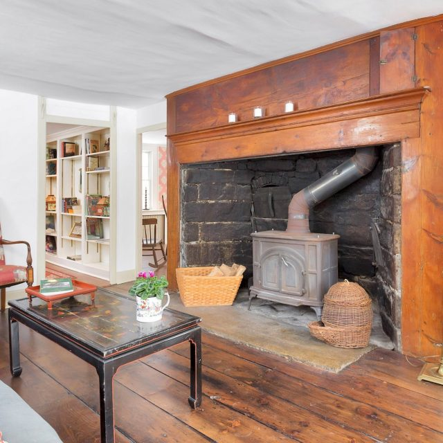 230-year-old Connecticut farmstead with original 18th-century details asks $1.2M