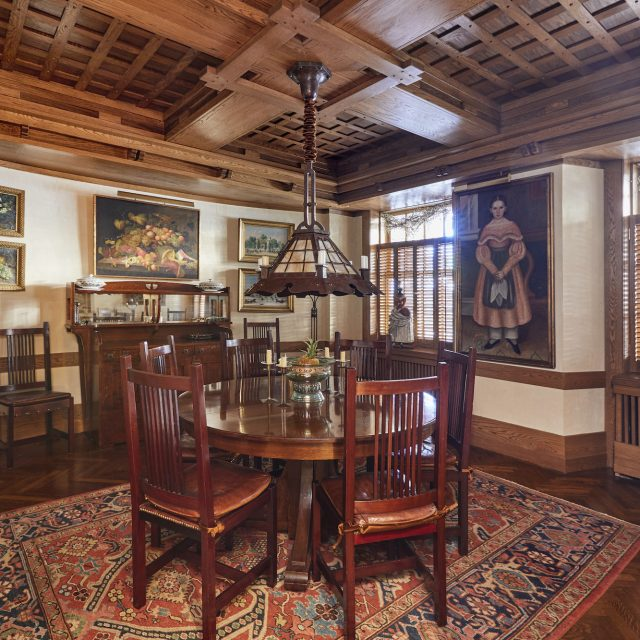 Historic woodwork is everywhere you look at this $3M Upper East Side maisonette