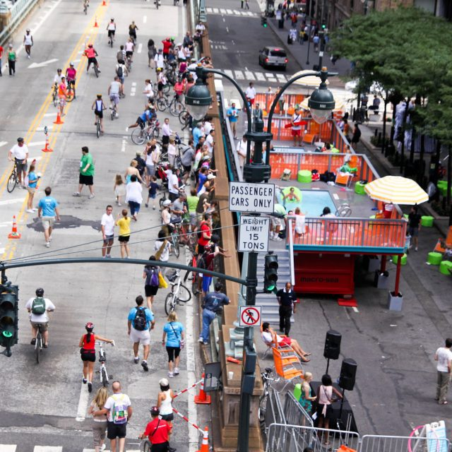 Pop-up pools proposed for NYC's open streets this summer