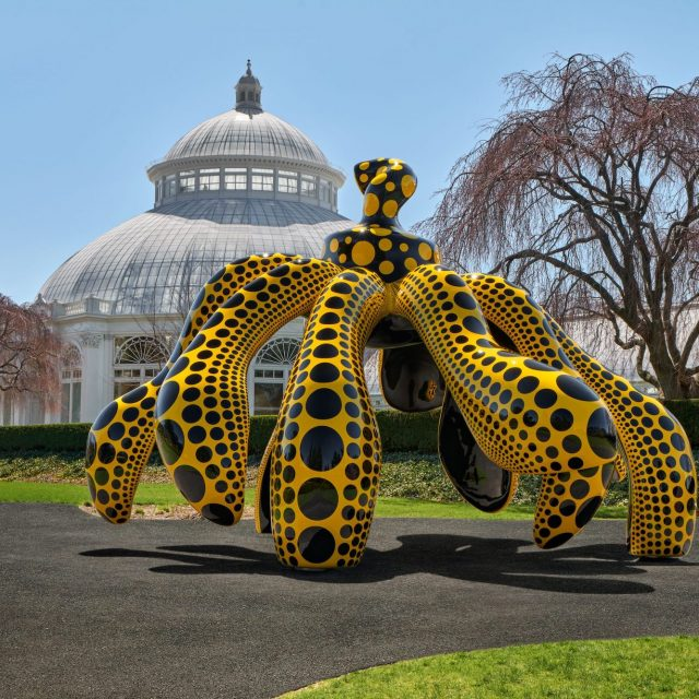 See inside the New York Botanical Garden's blockbuster Yayoi Kusama exhibition