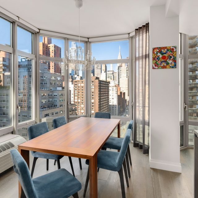 $1.75M Kips Bay condo overlooks the Chrysler Building and One Vanderbilt