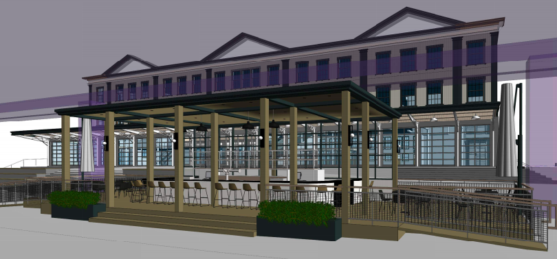 Waterfront restaurant and bar approved for the South Street Seaport