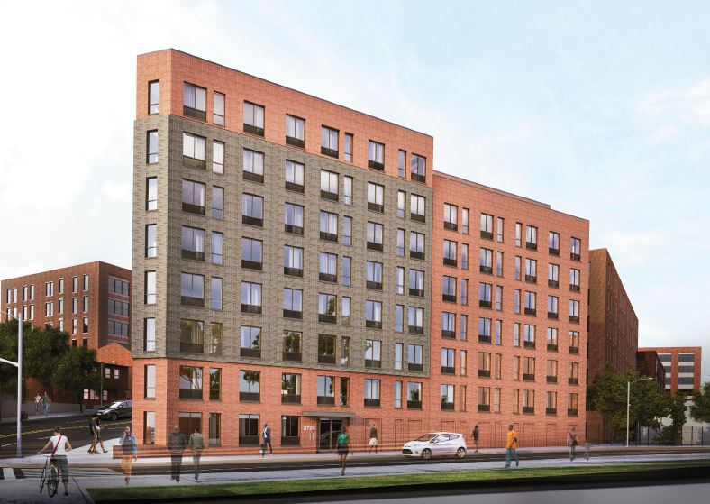 28 middle-income units available at new West Bronx rental, from $1,650/month