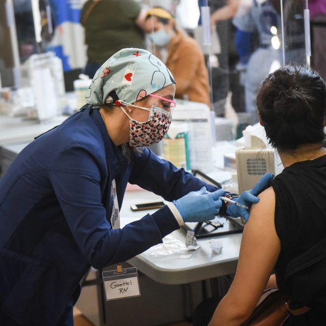 New York orders all state workers to be vaccinated or tested regularly