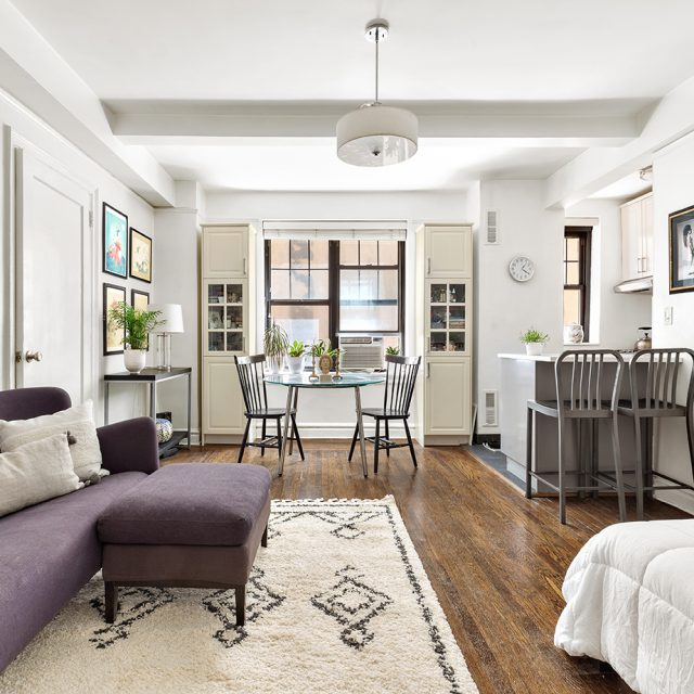 For $435K, a newly renovated Gramercy studio full of pre-war details