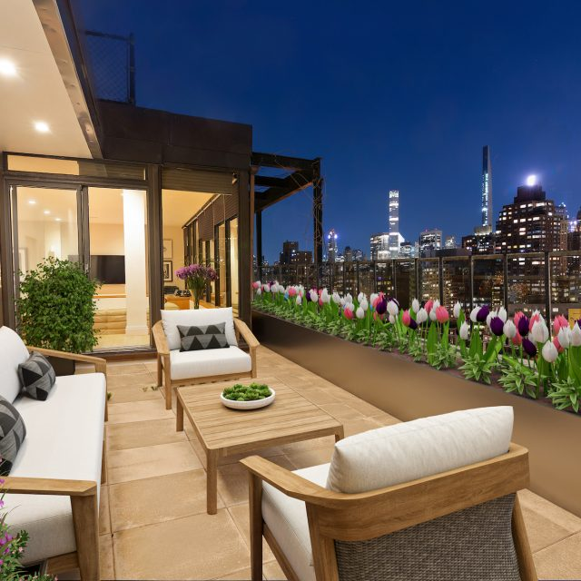 Luxe $4.8M Upper West Side penthouse has three terraces with skyscraper views