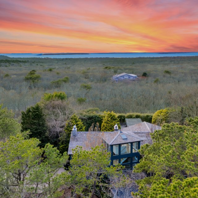 With panoramic views and rooftop observatory, this $4M hilltop Hamptons home resembles a lighthouse
