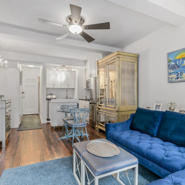 This compact and clever studio near Tudor City is asking just $319K
