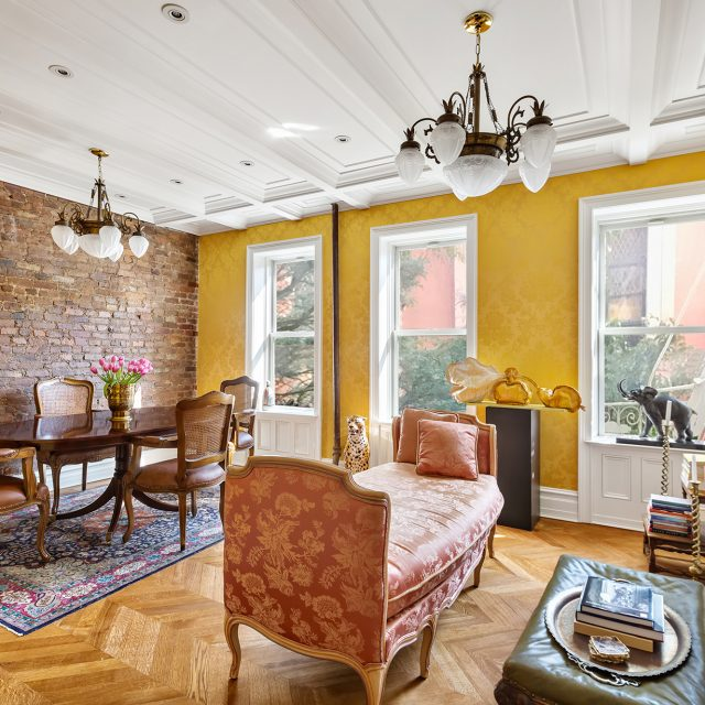 This $2.8M West Village co-op feels like an elegant European salon