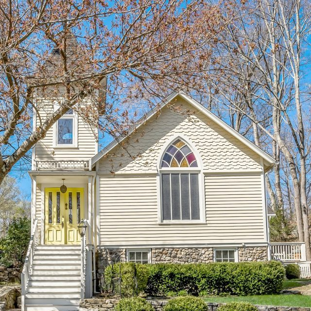 For just $865K, you can live in this beautiful converted church in Connecticut