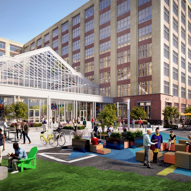 Jersey City's Harborside complex reveals waterfront outdoor space and perks like Smorgasburg