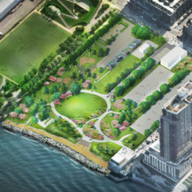 New design for Marsha P. Johnson State Park adds more greenery, scraps rainbow-striped mural