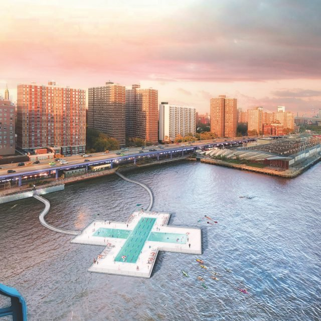 A self-filtering floating pool is officially coming to the East River