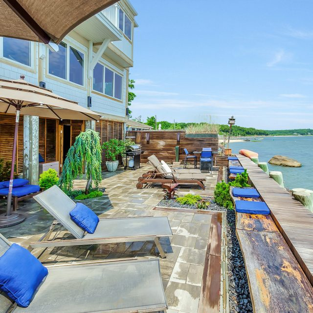 $2.3M bayfront home on the North Fork is like your own anchored 'houseboat'