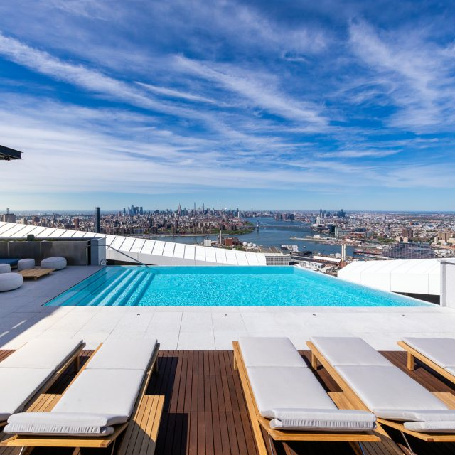 Brooklyn's tallest tower unveils highest infinity pool in the Western Hemisphere
