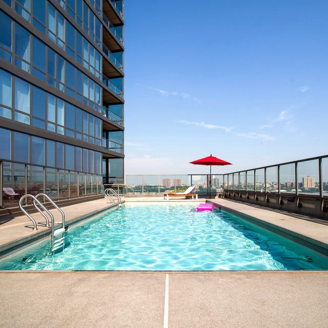 For $13.75M, this huge Riverside duplex has a private pool overlooking the Hudson