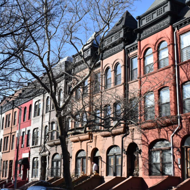 With ties to the Harlem Renaissance, Dorrance Brooks Square is designated a historic district