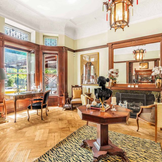 For $8.2M, a historic Harlem mansion with 10 bedrooms and tons of preserved woodwork