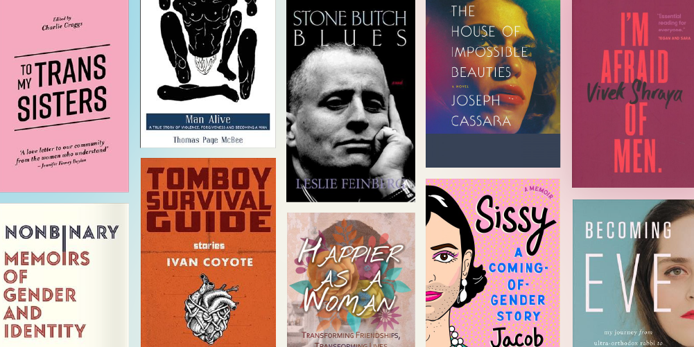 100 books with transgender, nonbinary, & gender nonconforming voices to read this Pride Month