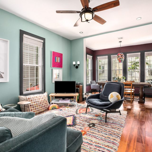 On a quiet block in East New York, this lovely two-family house with a driveway is asking $995K