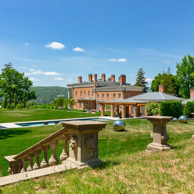 Upstate's 16-acre Sloan Estate lists for $11M, a rare chance to own a historic mansion