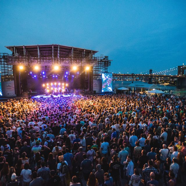 10 best spots for outdoor concerts in NYC this summer
