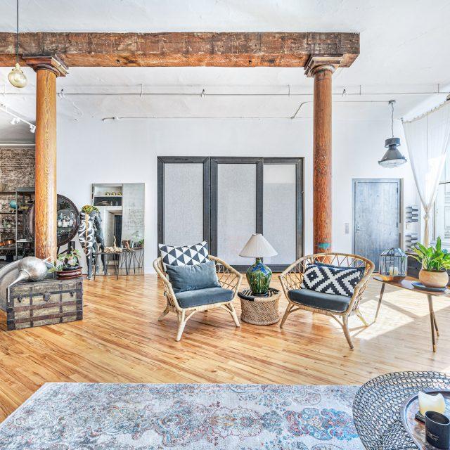 $4.3M full-floor apartment is a quintessential cast-iron loft in Soho