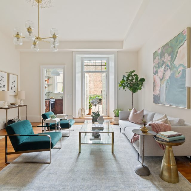 $2.9M one-bedroom with a terrace is a slice of Paris just off Central Park