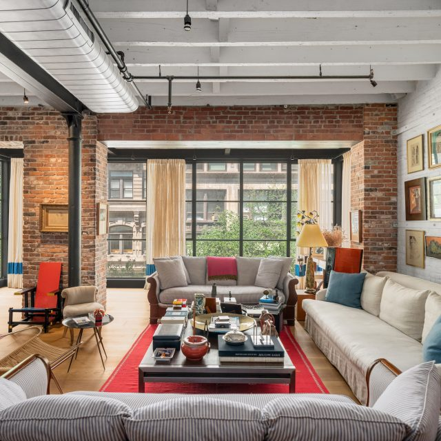 For $7.5M, a quirky Flatiron loft with an outside deck and two floors of solariums