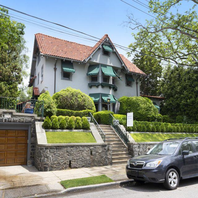 $5.5M Arts & Crafts home in Bay Ridge has modern period interiors and a magical backyard