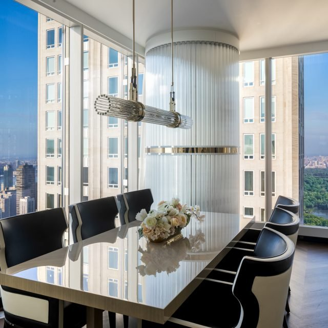On the 66th floor of the world's tallest residential building, a carefully curated condo for $22M