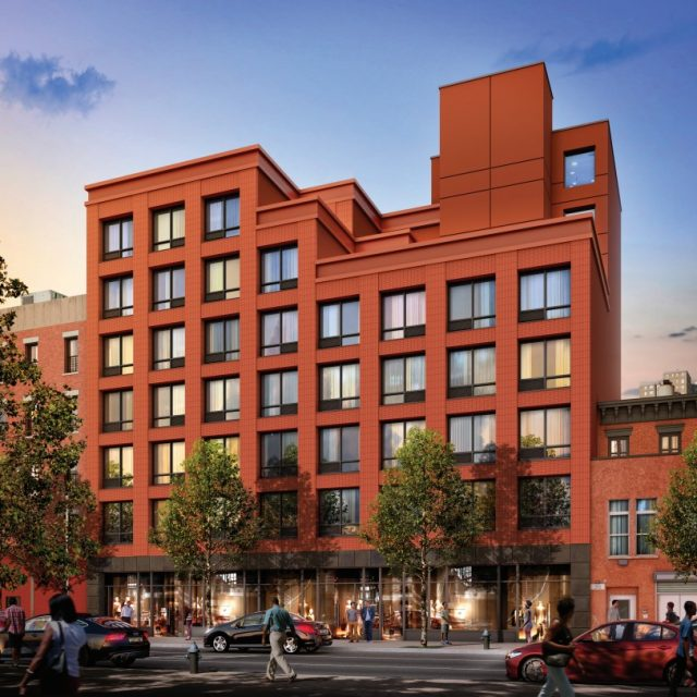 Affordable housing lottery opens at Harlem Passive House with tech space, from $362/month
