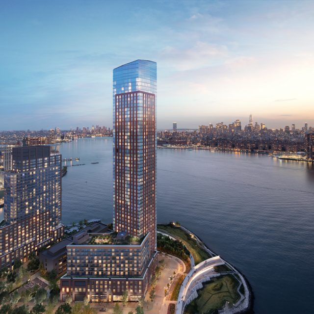 See the 1,100-unit Gotham Point towers coming to the Long Island City waterfront