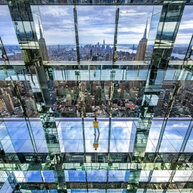 Summit One Vanderbilt reveals 1,000-foot-high mirrored art experience