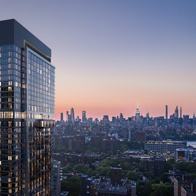 Leasing launches at The Willoughby, a new 476-unit rental in Downtown Brooklyn