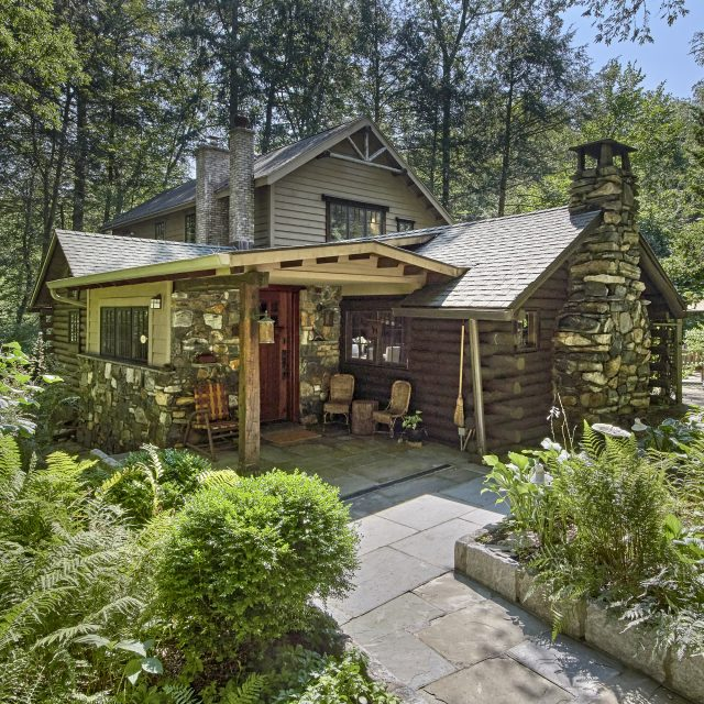 This century-old Adirondack-style log cabin can be your upstate retreat for $920K