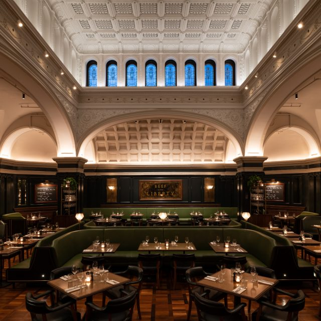 Famed London steakhouse Hawksmoor opens in Gramercy's historic United Charities Building