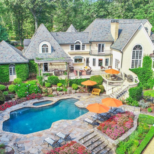 Asking $1.7M, this Tuscan-style Connecticut villa has a 500-bottle wine grotto and a 'Western lodge'