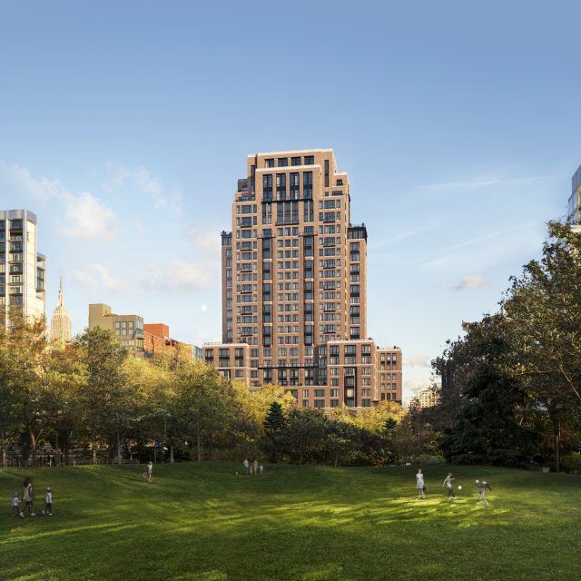 First look at Robert A.M. Stern and Olson Kundig's new Chelsea condo tower on the Hudson
