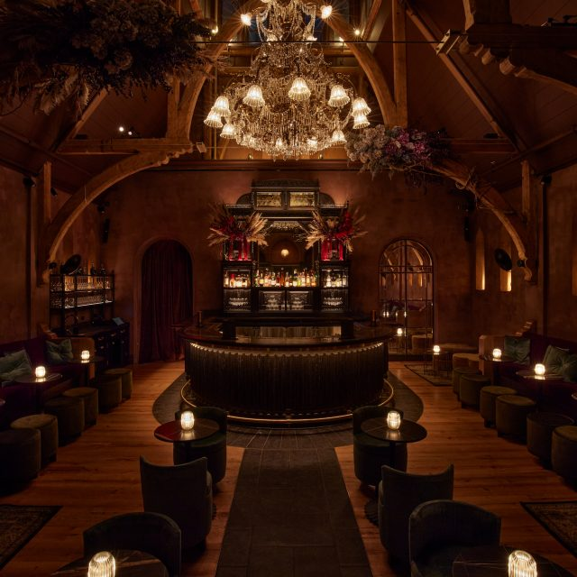 New members-only bar in Flatiron is located inside a 19th-century church