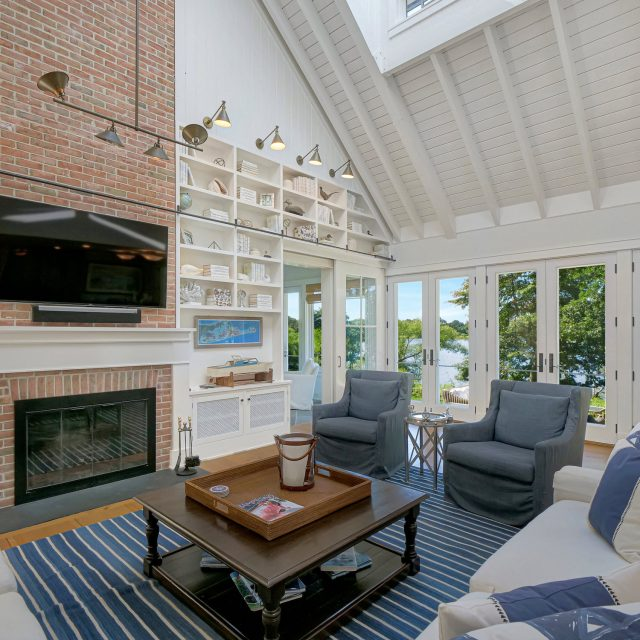 $5.95M pond-front home in Sagaponack nails the nautical-farmhouse look