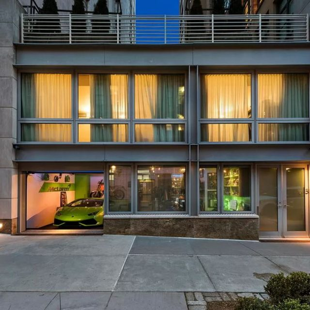 Tribeca's tricked-out 'Wolf of Wall Street' townhouse returns for $10M