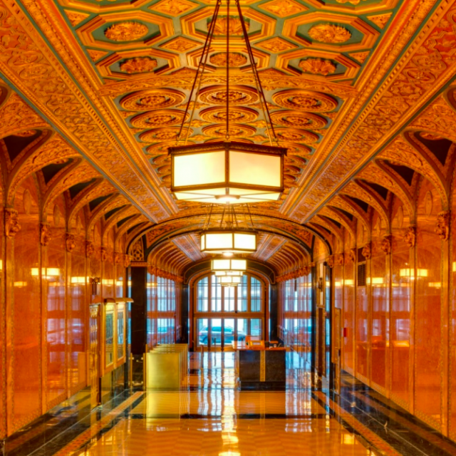 One of Midtown's most ornate office building lobbies could become a NYC landmark