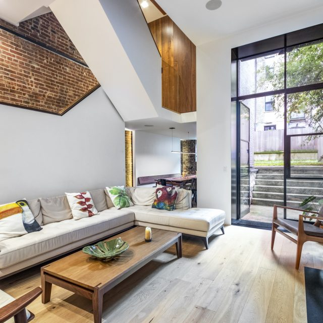 With modernist designer interiors, this $7.5M townhouse next to Central Park is an UWS dream