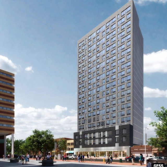 Lottery opens for 69 affordable apartments next to Jamaica's Rufus King Park, from $1,599/month